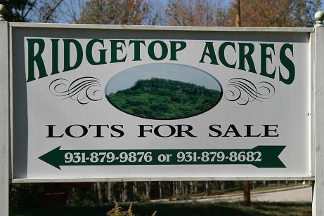 #1 – Ridge Top Acres